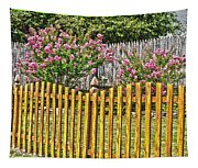 Fenced Beauty Tapestry