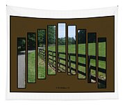 Fenced Pasture Tapestry