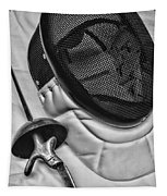 Fencing - Fencing Mask And Sword Tapestry