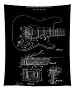 Fender Guitar Tremolo Patent Art 1956 Tapestry