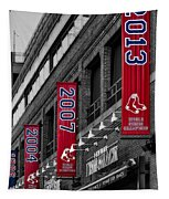 Fenway Boston Red Sox Champions Banners Tapestry