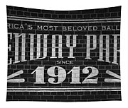 Fenway Park Boston Ma 1912 Sign Tapestry