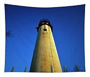 Fenwick Island Lightouse And Blue Sky Tapestry