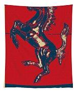 Ferrari Stallion In Hope Tapestry