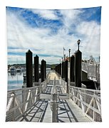 Ferry Dock Tapestry