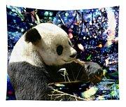 Festive Panda Tapestry