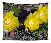 Field Cactus Tapestry