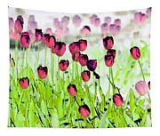 Field Of Tulips - Photopower 1492 Tapestry