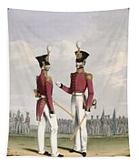 Field Officers Of The Royal Marines Tapestry