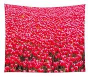 Fields Of Tulips Alkmaar Vicinity Tapestry