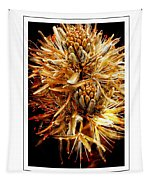 Fiery Floral Tapestry