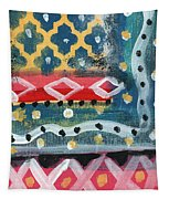 Fiesta 4- Colorful Pattern Painting Tapestry