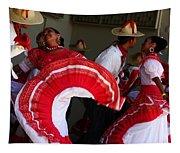 Fiesta De Los Mariachis Tapestry