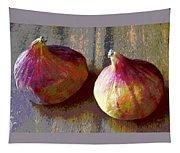 Figs Still Life Pop Art Tapestry