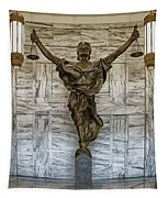 Figure Of Justice Tapestry