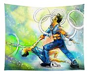 Figure Skating 01 Tapestry