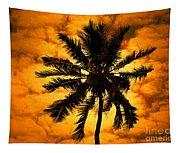 Fijian Sunset Tapestry