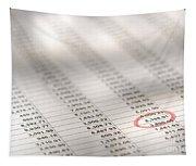 Financial Spreadsheet Tapestry