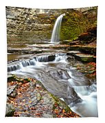 Finger Lakes Waterfall Tapestry