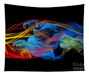 Fire And Ice Smoke  Tapestry