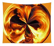 Fire Ball Tapestry