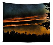 Fire Clouds Tapestry
