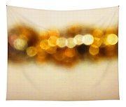 Fire Dance - Warm Sparkling Abstract Art Tapestry