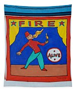Fire Eater Tapestry