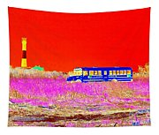 Fire Island Life Tapestry