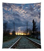 Fire On The Horizon Tapestry