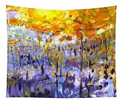 Fire On The Mountain Tapestry