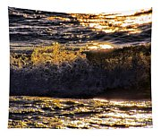Fire On The Water Tapestry