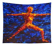 Fire Warrior Tapestry