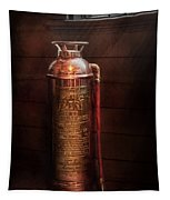 Fireman - Alert  Tapestry by Mike Savad