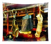 Fireman - Boots And Fire Gear Tapestry