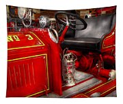 Fireman - Fire Engine No 3 Tapestry
