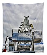 Fireman - Fire Ladder Tapestry