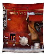 Fireman - Old Fashioned Controls Tapestry by Mike Savad