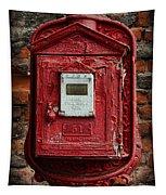 Fireman - The Fire Alarm Box Tapestry