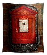 Fireman - The Fire Box Tapestry
