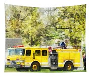 Firemen - Back At The Firehouse Tapestry