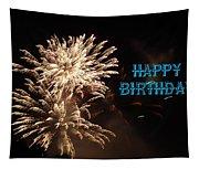 Fireworks Birthday Tapestry