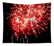 Fireworks Display At Niagara Falls Tapestry