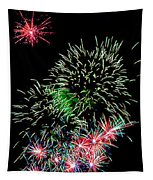 Fireworks Over The Bay Tapestry