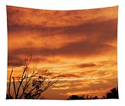 Firey Sunset Tapestry