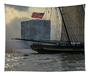 Firing Cannon Tapestry