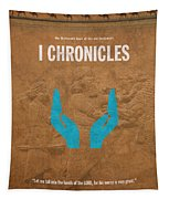 First Chronicles Books Of The Bible Series Old Testament Minimal Poster Art Number 13 Tapestry