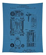 First Computer Blueprint Patent Tapestry