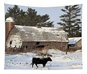 First Day Of Winter Tapestry