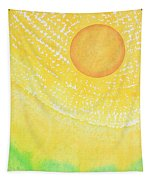 First Light Original Painting Tapestry